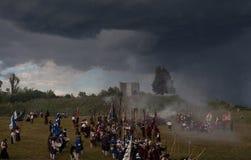 Ιστορική αναπαράσταση α δ 1615 Στοκ Εικόνα