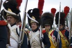 Ιστορική αναπαράσταση μάχης Borodino στη Ρωσία, Στοκ Φωτογραφίες