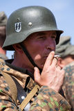 Ιστορική αναπαράσταση WWII στο Κίεβο, Ουκρανία Στοκ εικόνα με δικαίωμα ελεύθερης χρήσης