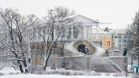 Ιστορική αρχιτεκτονική στο πάρκο Στοκ φωτογραφία με δικαίωμα ελεύθερης χρήσης