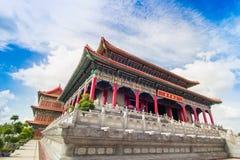 Ιστορική αρχιτεκτονική της Κίνας Στοκ φωτογραφία με δικαίωμα ελεύθερης χρήσης