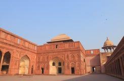 Ιστορική αρχιτεκτονική Agra Ινδία οχυρών Agra Στοκ Φωτογραφίες