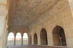 Ιστορική αρχιτεκτονική Agra Ινδία οχυρών Bagh Agra Anguri Στοκ Φωτογραφία