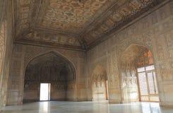 Ιστορική αρχιτεκτονική Agra Ινδία οχυρών Bagh Agra Anguri Στοκ Εικόνα