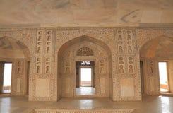 Ιστορική αρχιτεκτονική Agra Ινδία οχυρών Bagh Agra Anguri Στοκ Εικόνες