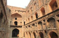 Ιστορική αρχιτεκτονική Ugrasen Ki Baoli Νέο Δελχί Ινδία Στοκ φωτογραφία με δικαίωμα ελεύθερης χρήσης