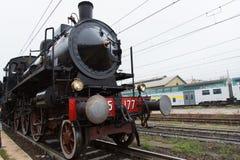 Ιστορική ατμομηχανή ατμού Στοκ Φωτογραφίες