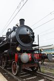 Ιστορική ατμομηχανή ατμού Στοκ φωτογραφία με δικαίωμα ελεύθερης χρήσης