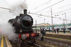 Ιστορική ατμομηχανή ατμού Στοκ Εικόνα