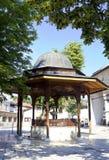 Ιστορική αυλή μουσουλμανικών τεμενών Gazi Husrev Στοκ φωτογραφίες με δικαίωμα ελεύθερης χρήσης