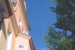 Ιστορική βίλα κοντά στο κέντρο πόλεων Στοκ φωτογραφία με δικαίωμα ελεύθερης χρήσης