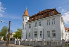 Ιστορική βίλα κοντά στο κέντρο πόλεων Στοκ Φωτογραφίες