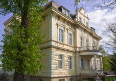 Ιστορική βίλα κοντά στο κέντρο πόλεων Στοκ Εικόνες