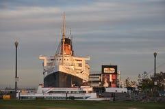 Ιστορική βασίλισσα Mary στο Λονγκ Μπιτς, Καλιφόρνια Στοκ Εικόνες