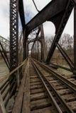Ιστορική γέφυρα σιδηροδρόμου - Πενσυλβανία Στοκ Φωτογραφία