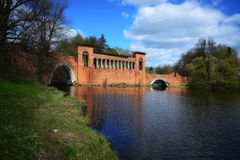 Ιστορική γέφυρα Marfino Στοκ Εικόνες