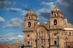 Ιστορική εκκλησία μέσα σε Cusco Στοκ Εικόνες