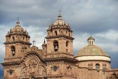 Ιστορική εκκλησία μέσα σε Cusco Στοκ φωτογραφίες με δικαίωμα ελεύθερης χρήσης