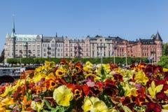 Ιστορική εκκλησία Σουηδία οικοδόμησης Στοκχόλμη Oscar Στοκ Εικόνα