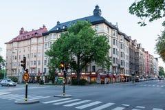 Ιστορική εκκλησία Σουηδία οικοδόμησης Στοκχόλμη Oscar Στοκ εικόνα με δικαίωμα ελεύθερης χρήσης