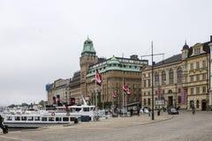 Ιστορική εκκλησία Σουηδία οικοδόμησης Στοκχόλμη Oscar Στοκ εικόνες με δικαίωμα ελεύθερης χρήσης