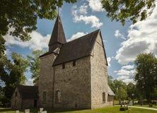 Ιστορική εκκλησία Σουηδία Hossmo Στοκ Εικόνες