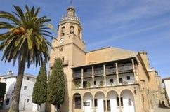 Ιστορική εκκλησία στη Ronda Στοκ Εικόνες