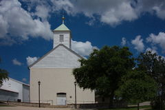 Ιστορική εκκλησία του Τέξας Στοκ Εικόνες