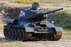 Ιστορική δεξαμενή τ-34 στοκ φωτογραφίες