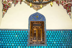 Ιστορική ισλαμική διακόσμηση, μοτίβο Στοκ φωτογραφία με δικαίωμα ελεύθερης χρήσης