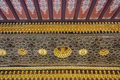 Ιστορική ισλαμική διακόσμηση, μοτίβο Στοκ εικόνες με δικαίωμα ελεύθερης χρήσης