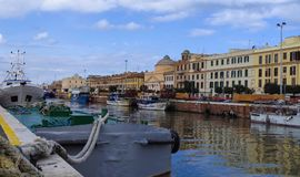 Ιστορική ιταλική πόλη Στοκ εικόνες με δικαίωμα ελεύθερης χρήσης
