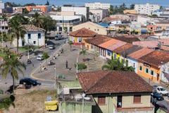 Ιστορική κατοικία Itanhaem Σάο Πάολο Βραζιλία στοκ φωτογραφίες