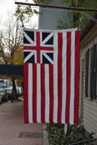Ιστορική μεγάλη σημαία ένωσης Στοκ εικόνα με δικαίωμα ελεύθερης χρήσης