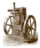 Ιστορική μηχανή αερίου απεικόνιση αποθεμάτων