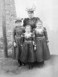 Ιστορική οικογένεια Στοκ Φωτογραφίες