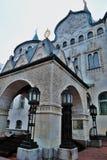 Ιστορική οικοδόμηση της τράπεζας σε Nizhny Novgorod, Ρωσία στοκ εικόνες