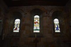 Ιστορική οικοδόμηση του whitby αβαείου και της εκκλησίας του στοκ εικόνες με δικαίωμα ελεύθερης χρήσης