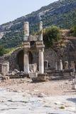 Ιστορική δομή αγορών Ephesus Τουρκία Στοκ Εικόνα