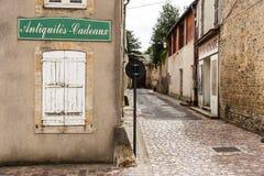 Ιστορική οδός στο Bayeux Στοκ φωτογραφίες με δικαίωμα ελεύθερης χρήσης