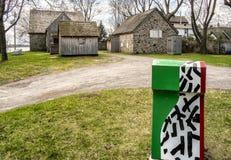 ιστορική πέτρα σπιτιών Στοκ φωτογραφίες με δικαίωμα ελεύθερης χρήσης