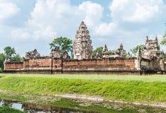 Ιστορική περιοχή στην Ταϊλάνδη, όνομα: Prasat Sadok Kok Thom Στοκ Εικόνες