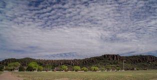 Ιστορική περιοχή του Νταίηβις οχυρών στοκ φωτογραφία