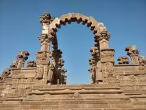 Ιστορική περιοχή Bhuj, Gujarat, Ινδία στοκ φωτογραφία