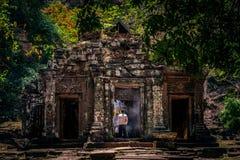Ιστορική περιοχή Pho Champasak Wat, Λάος Στοκ Φωτογραφία