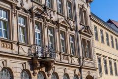 Ιστορική πρόσοψη στην πόλη της βηρυττού - θέση - τηλέφωνο - τηλέγραφος Στοκ Φωτογραφία