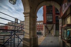 Ιστορική πόλη του βόρειου τμήματος της Ισπανίας Στοκ φωτογραφίες με δικαίωμα ελεύθερης χρήσης
