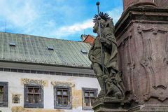 Ιστορική πόλη Σλοβακία μεταλλείας Stiavnica Banska Στοκ Εικόνες