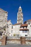 Ιστορική πόλη της διάσπασης, παλάτι Diocletian, διάσπαση Στοκ φωτογραφία με δικαίωμα ελεύθερης χρήσης