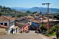 Ιστορική πόλη του Minas Gerais Στοκ εικόνες με δικαίωμα ελεύθερης χρήσης